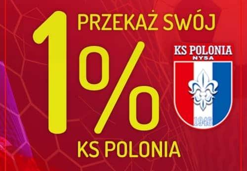 Przekaż 1% podatku na rozwój Akademii Polonii Nysa