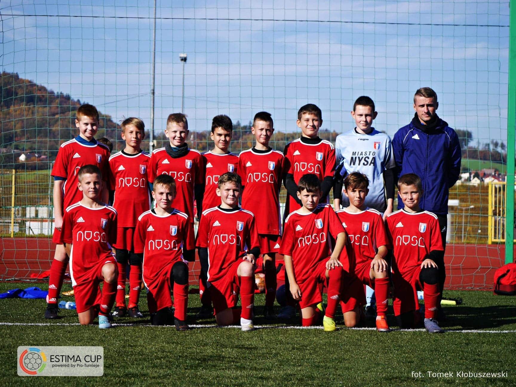 9 miejsce Młodzika I w turnieju Estima Cup