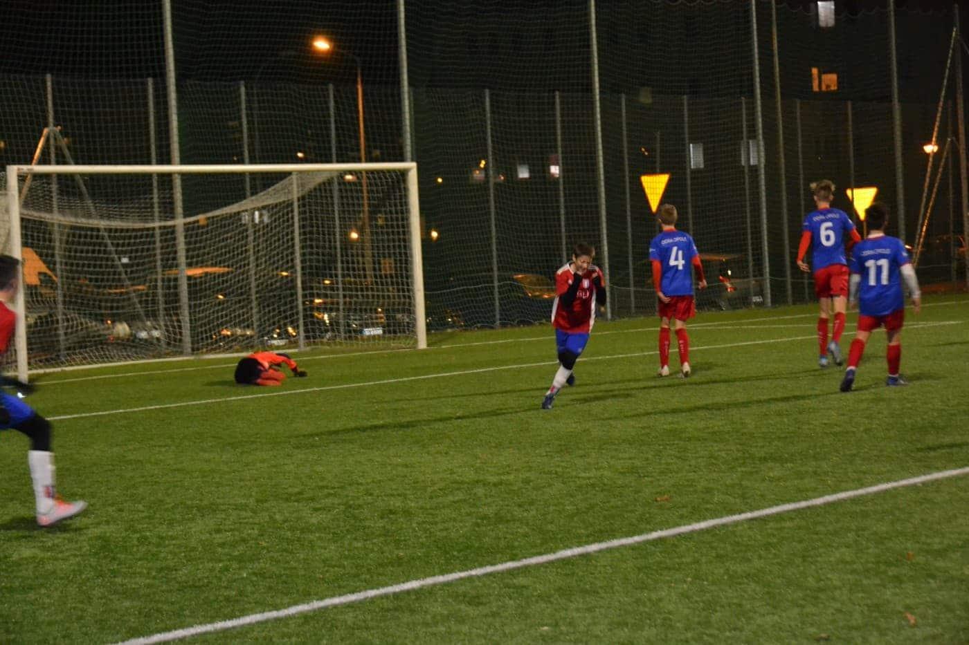 Odra Opole wygrywa w pierwszym meczu barażowym