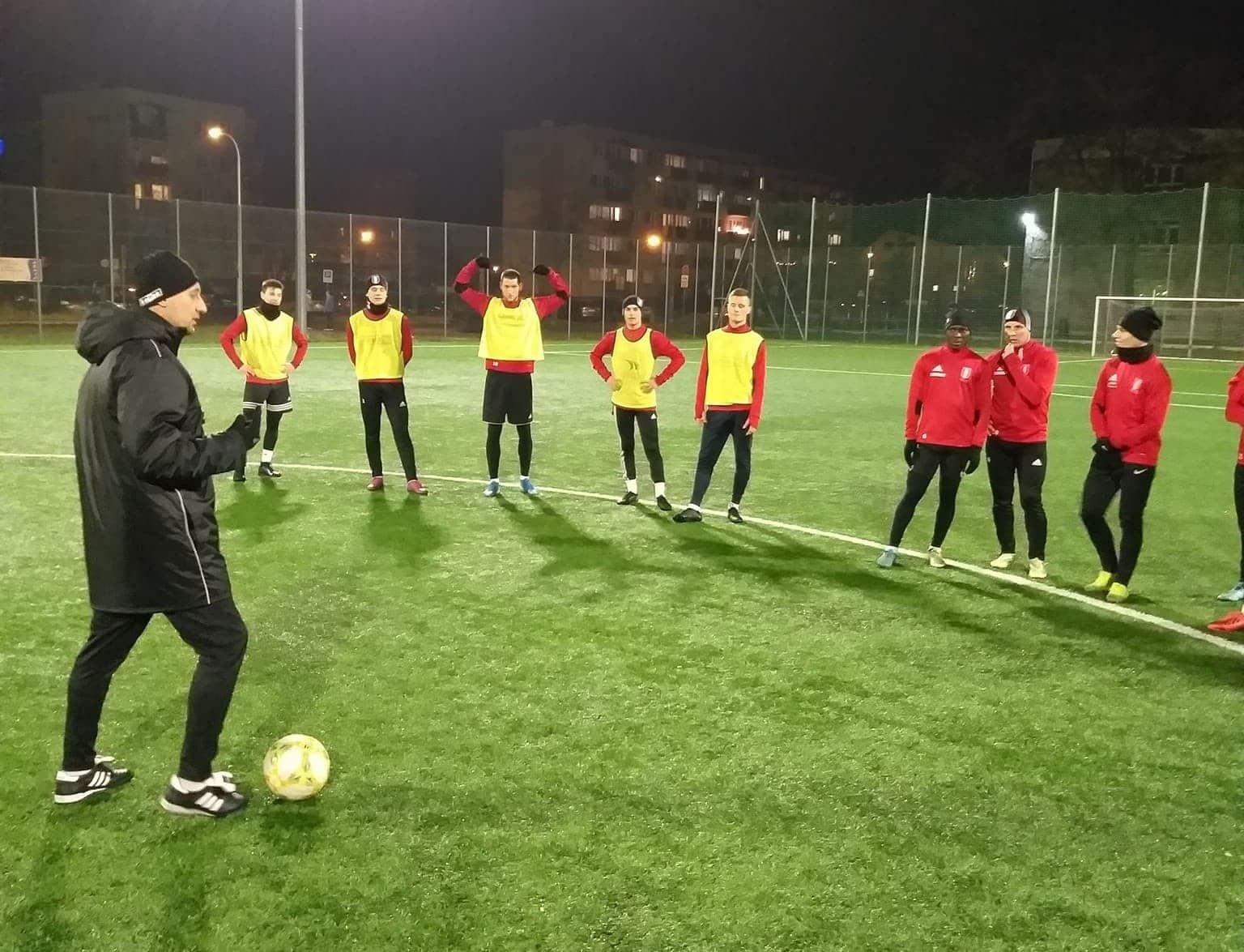Pierwsza drużyna rozpoczęła przygotowania do rundy wiosennej