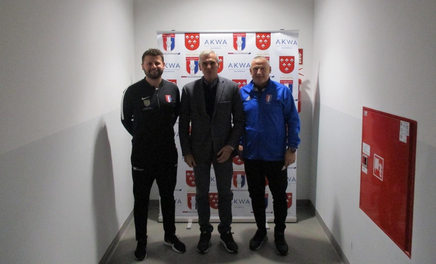 Paweł Janas z wizytą w naszym klubie